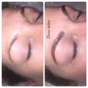 Feather Brow Tattooing