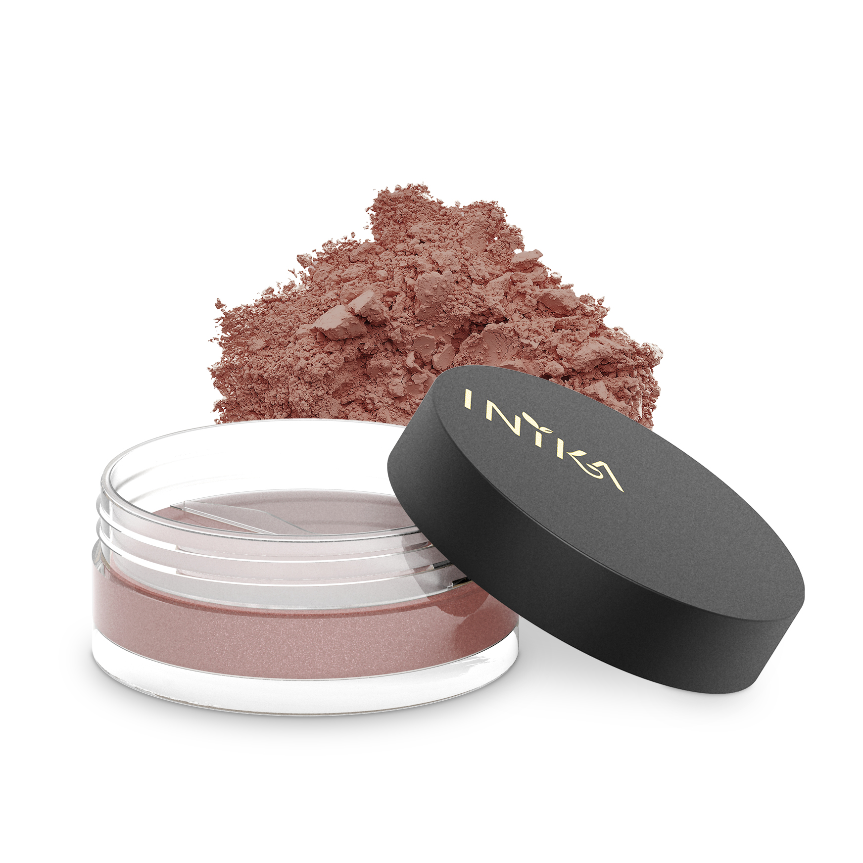 INIKA Loose Mineral Blush 3.5g Red Apple With Product