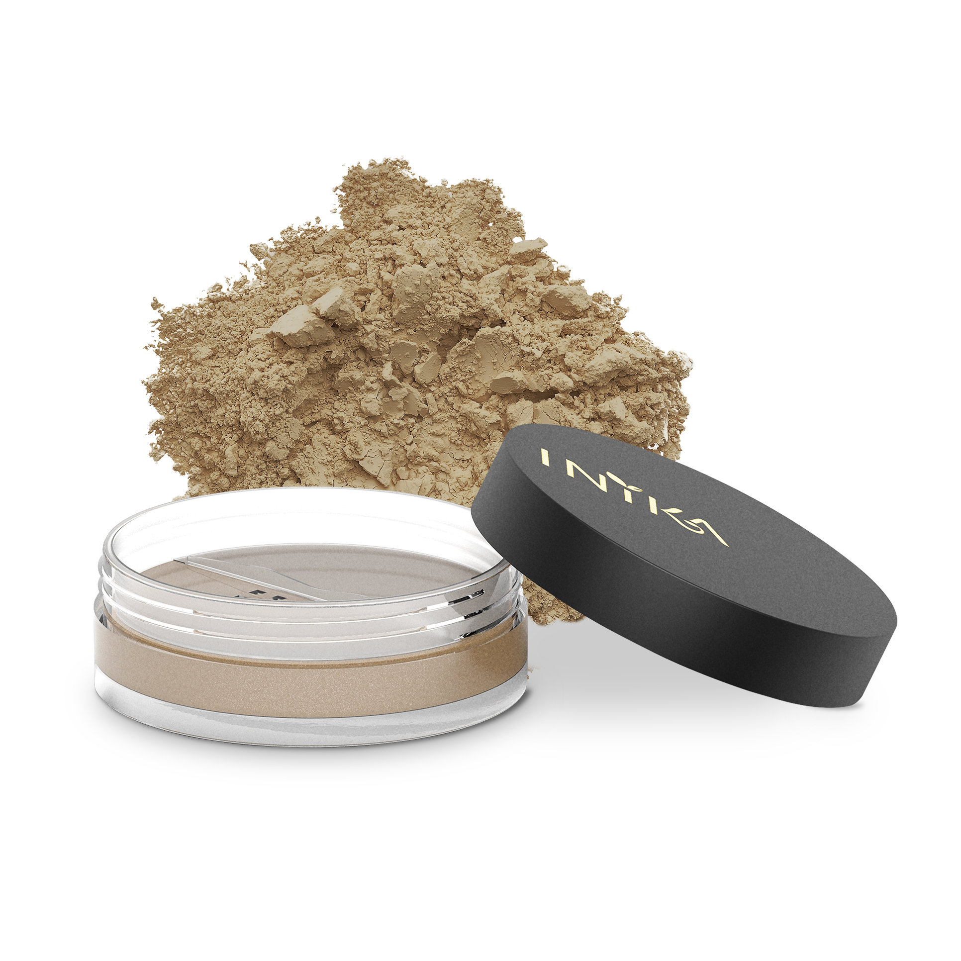 INIKA Loose Mineral Foundation 8g Freedom With Product