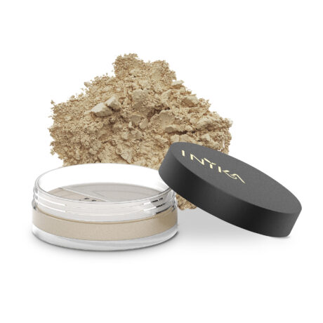 INIKA Loose Mineral Foundation 8g Strength With Product